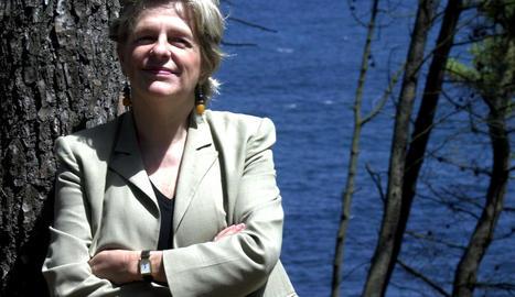 L'escriptora María Tena.