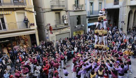 Diada castellera a Lleida TV