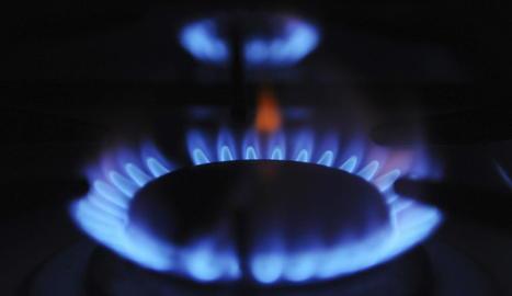 Imatge d'un cremador d'una cuina de gas.