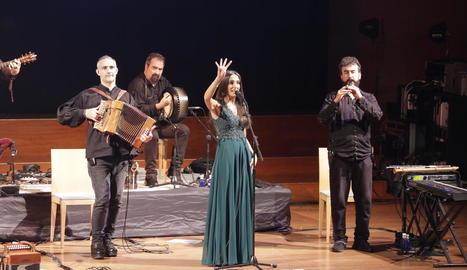 El grup Luar Na Lubre, divendres a l'Auditori.