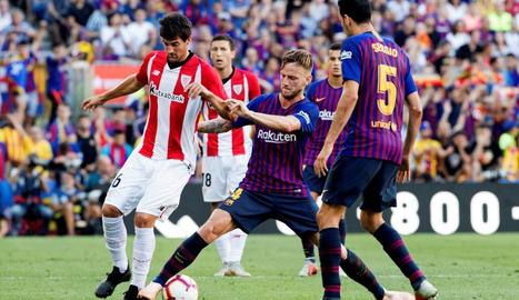 El Barça no va poder passar de l'empat dissabte al Camp Nou davant de l'Athletic.