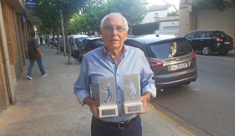 Antonio Carreño, Campió de Catalunya