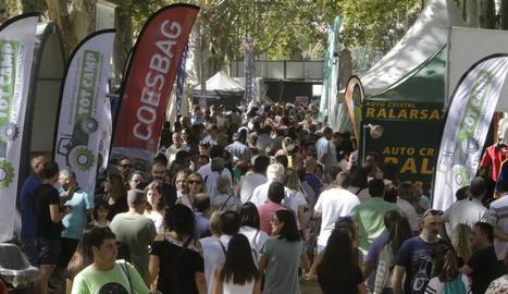 L'afluència de públic durant els dies de la Fira ha estat massiu a tots els recintes.