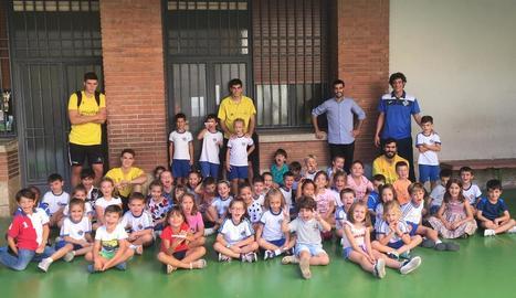 El Pardinyes visita Lestonnac en la campanya de captació de jugadors