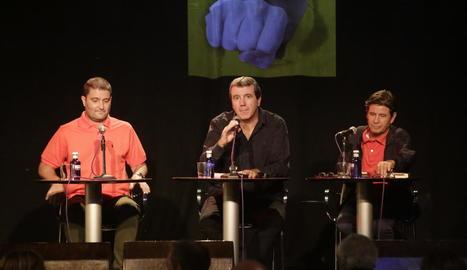 Emili Bayo presenta a Lleida la seua nova novel·la negra, 'Més que ràbia'