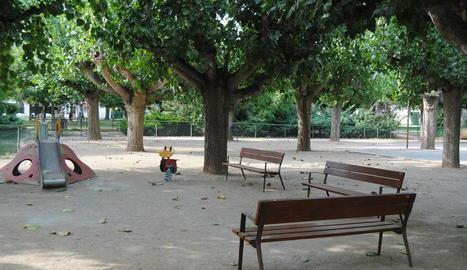 El parc municipal de Mollerussa.