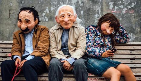 La companyia basca Kulunka Teatro presentarà dissabte a Juneda el muntatge 'Solitudes'.