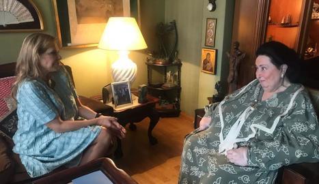 Mari Cruz Soriano entrevista Montserrat Caballé.