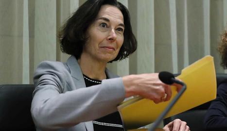 La cap de la missió de l'FMI per a Espanya, Andrea Schaechter.