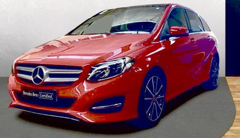 Mercedes B200d
