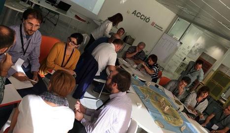 Imatge de la jornada de 'gaming' celebrada ahir a Lleida.