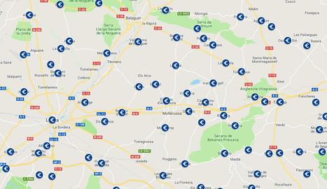 Mapa interactiu amb el sous dels alcaldes de Catalunya