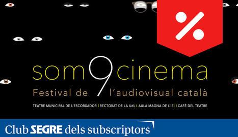 Cartell de la 9a edició del 'Som Cinema', el festival de l'audiovisual català.