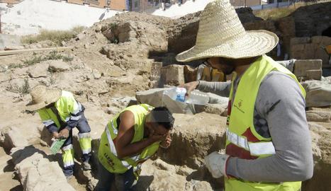 Treballadors a Lleida aquest estiu.