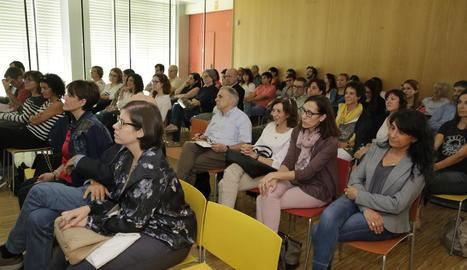 Participants a la jornada, organitzada per Arnau i Santa Maria.