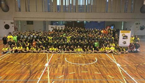 L'Handbol Pardinyes afronta la temporada amb 180 jugadors