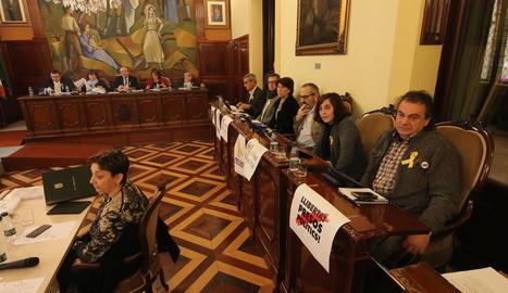 ERC amenaça amb una moció de censura si Reñé no s'aparta de la Diputació durant el procediment judicial