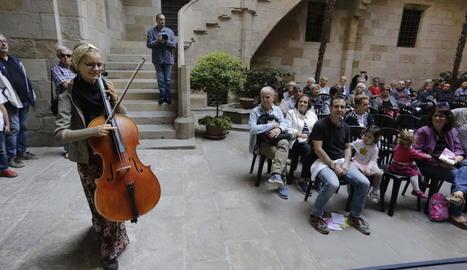 Els carrers i espais culturals de Lleida s'omplen de música