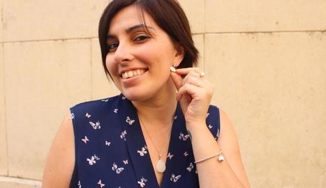 """Estela Aguilar: """"Les joies de llet materna encapsulen records, són un homenatge"""""""