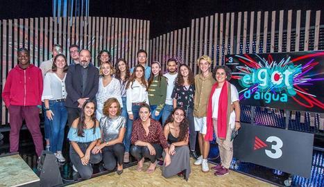 Foto de família del concurs que TV3 estrena aquesta nit.