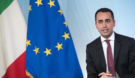 El ministre de Desenvolupament Econòmic italià, Luigi Di Maio.