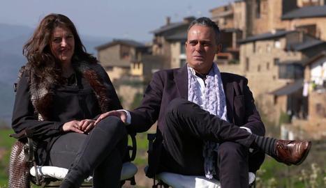 La Núria i el Joan, els amfitrions lleidatans del concurs de Cuatro.