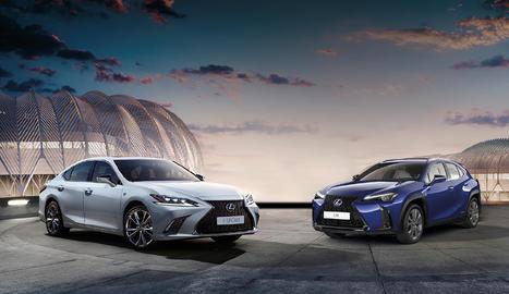 Lexus ha comptat amb el nou RC 300h com a primícia mundial a la capital francesa i amb l'edició exclusiva Yellow Edition del LC.