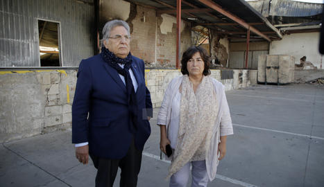 a Fundació Ilersis-Shalom, Antoni Siurana, i la gerent,