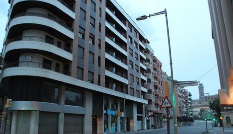 Les amenaces van tenir lloc a l'avinguda de les Garrigues.