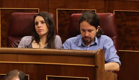 Irene Montero i Pablo Iglesias.