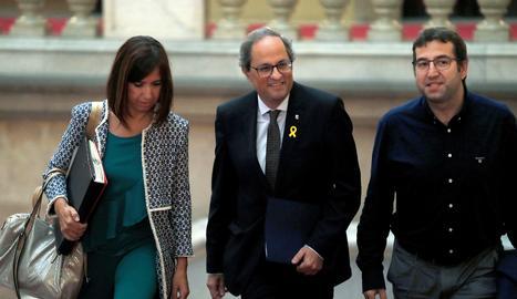 El president de la Generalitat, Quim Torra.