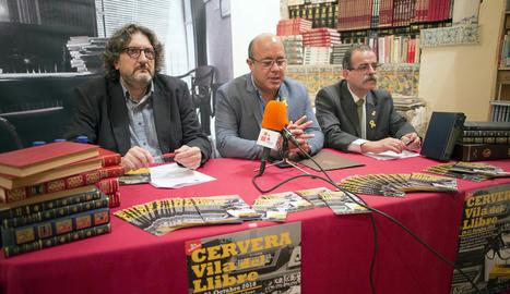 La presentació de Cervera, Vila del Llibre va tenir lloc ahir a la capital de la Segarra.