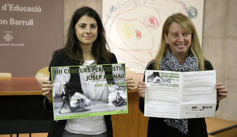 La regidora d'Educació de Lleida (e), Rosa Maria Salmeron, ahir.