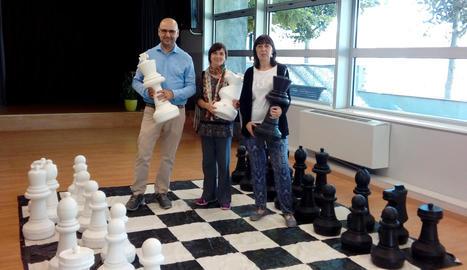 Les Borges Blanques s'uneix al projecte d'escacs d'ADEJO