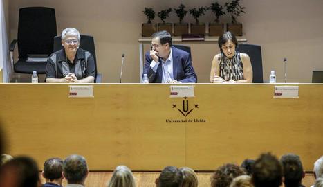 Màrius Serra va pronunciar la conferència inaugural de curs.