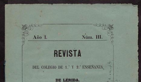 Una de les obres del pintor Carlos de Haes procedents del llegat Tarragó.