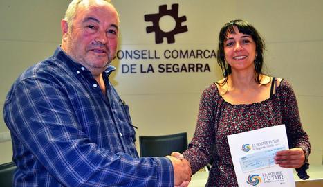 El disseny de Mercè Serra va guanyar el concurs.