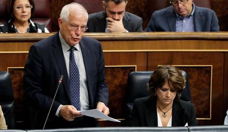 El ministre d'Exteriors, Josep Borrell.