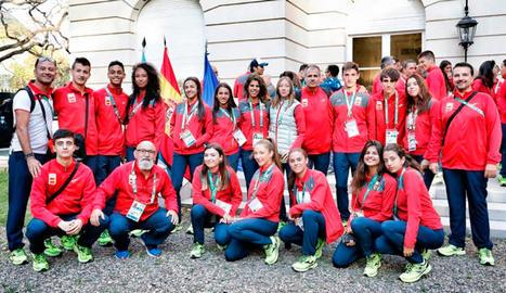 Ferran Julià acaba vuitè en els 800 lliure dels Jocs de la Joventut