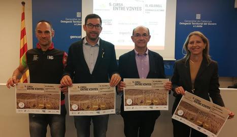 La prova es va presentar ahir a la seu de la Secretaria General d'Esports de la Generalitat.