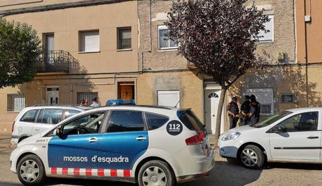 En marxa una operació policial contra el tràfic de marihuana a Alfarràs