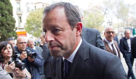 L'expresident del Barcelona Sandro Rosell.