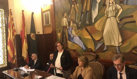 Rosa Maria Perelló, nova alcaldessa de la Diputació de Lleida.