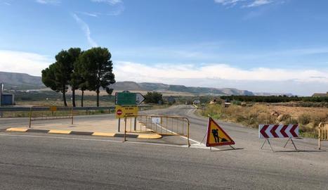 Aquesta setmana s'obrirà el pas per la nova carretera.