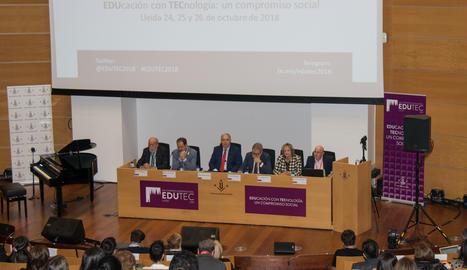 L'acte inaugural del congrés Edutec a