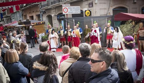 El Mercat Romà d'Ilerda ja és un esdeveniment consolidat després de dos edicions.