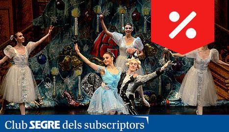Una de les escenes de 'El Trencanous' amb el gran Ballet de Moscou.