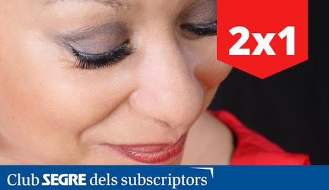 La cantant nord-americana Michele Hendricks, una de les grans dames del jazz.