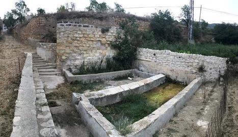 El safareig de la Font Vella, a Os de Balaguer.