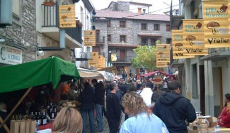 La fira ramadera de Vilaller, en l'edició de l'any passat.